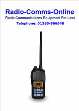 Reciente RS-36M Marina Vhf Portable/Handheld JIS7 Sumergible Flash Y Flotador