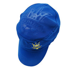 UKRAINE BLUE WITH TRIDENT MILITARY STYLE HAT CAP .. NEW