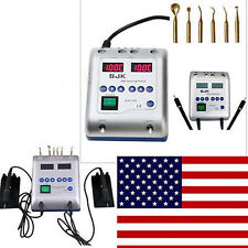 Dental Lab Electric Waxer Carving Knife Machine Double Pen W/h 6 Wax Tips US NEW