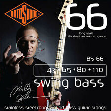 Rotosound BS66 Billy Sheehan Signature Electric Bass Guitar Strings 43-110