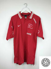 TURKEY 08/09 *PLAYER ISSUE* Polo Shirt (XL) Soccer Jersey Football Nike