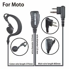 Earloop Headset Earpiece for Motorola CP040 CP140 CP160 CP180 CP185 CP200 Radio