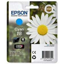 1 Cyan Genuine Epson XP-30 XP-225 XP-322 XP-405WH XP-412 XP-422 Ink Cartridge