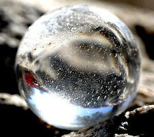 Clear Quartz Sphere Crystal Healing Ball Marble Gemstone Specimen Geometry NR!