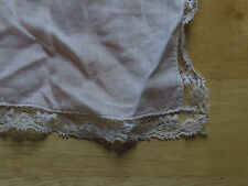 Narrow lace-bound handkerchief