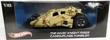 BATMAN THE DARKNIGHT RISES : CAMOUFLAGE TUMBLER 1:18 SCALE DIE CAST MODEL (TK)