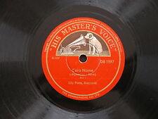 78 rpm TUTTE LE FESTE - CARO NOME Rigoletto Verdi LILY PONS - DB 1597
