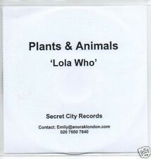 (697O) Plants & Animals, Lola Who - DJ CD