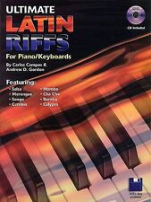 Ultimate Latin Riffs For Piano Keyboards Learn to Play Tango Music Book CD