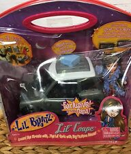 Lil' Bratz Lil Coupe Convertible with Dana Doll 15 Accessories 2003 MGA Unopened