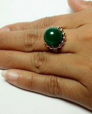 Natural Aventurine 12mm  Gemstone ring