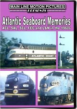 Atlantic Seaboard Memories ACL SAL SCL FEC and L&N in the 1960s DVD Coast Line