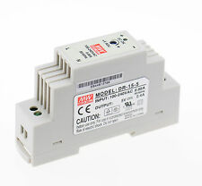 Meanwell DR-15-5 AC to DC Power Supply Enclosed LED Output 5 Volt 2.4A 12 Watt