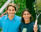 Roger Federer & Rafael Nadal 10 x 8 UNSIGNED photo - P1251 - SEXY!!!!!