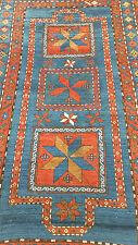 Antique Kazak Oriental rug 5'X8' Star design,Shiravan Collectible Hand knotted