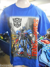 Licensed Youth Transformers Shirt New S (7-8)