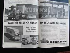 VIRGINIA Trucks Serving The Old Dominion September 1963 Issue Trucking Industry