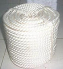 "1/2""x100' Twisted 3 Strand Nylon Rope Thimble"