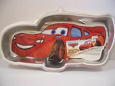 Wilton Disney Pixar Lightning McQueen Cake Pan 95 Cars Movie insert boy birthday