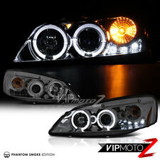 [SMOKE] 2005-2010 Pontiac G6 Projector Headlights Headlamps w/ Quad Halo LED DRL