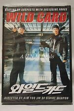 wild card kim yoo jin ntsc import dvd English subtitle