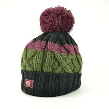 Animal Men's Canyon Knitted Bobble Beanie-aw16: Nero