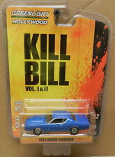DODGE BOYS 1971 SCAT PACK BLUE CHARGER KILL BILL AIR GRABBER 10 MOPAR GREENLIGHT