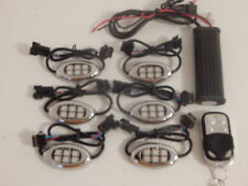 Wireless Remote 18 Color Changing Led 6pc Motorcycle Led Neon Glow Lighting Kit