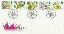 (88055) CLEARANCE GB FDC Orchids - Edinburgh Royal Botanic Garden 19 Jan 1993