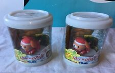 Tomy Micro Pets Santa Dog JINGLE LimEd NEW SEALED Voice Activated 2003 Lot of 2
