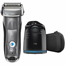 BRAUN Series 7 790cc-4 Electric Foil Shaver with Clean & Charge Station - Razor