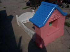 LITTLE TIKES STORYBOOK COTTAGE PRINCESS CHILD SIZE TODDLER BED
