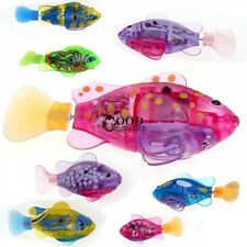 Robofish Activated Battery Powered Robo Fish Toy Childen Kids Robotic Gift TXGT