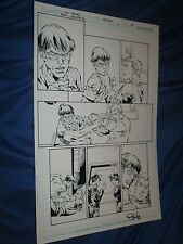 RED LANTERNS #4 Original Art Page #18 by Ed Benes/Rob Hunter (Green/DC Comics)