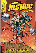 YOUNG JUSTICE SPECIAL (deutsch) # 1 - SUPERGIRL - DINO VERLAG 2000 - TOP