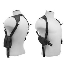 Black Shoulder Holster w/ Mag Pouches Fits GLOCK 21 22 23 17 19 Walther P99 PPQ
