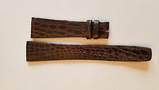 Original OMEGA VINTAGE  Defy  Alligator Watch Strap Band 20mm