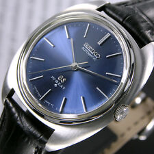 Vintage Grand Seiko Hi-Beat 5641A 25 Jewels Automatic Blue Dial  Men's Watch