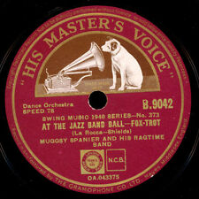 MUGGSY SPANIER & HIS RAGTIME BAND At the Jazz Band Ball / Livery Stable...  X988
