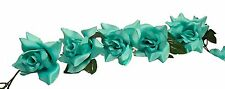 TIFFANY BLUE  Rose Garland Silk Wedding Flowers Arch Gazebo Reception Decoration