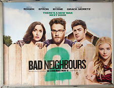 Cinema Poster: BAD NEIGHBOURS 2 2016 (Quad) Seth Rogen Rose Byrne Zac Efron