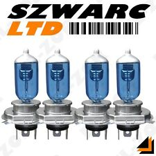 4 X H4 472 XÉNON SUPER BLANC 100W DOUBLE TWIN LOT PAQUET AMPOULES PHARE