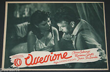 fotobusta originale OSSESSIONE Luchino Visconti Girotti Dhia Cristiani 1943 #09