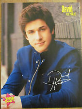 David Henrie, Mitchel Musso, Double Full Page Pinup