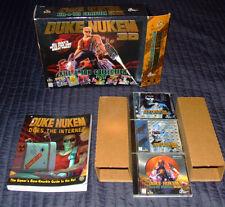 *RARE Duke Nukem 3D: Kill-A-Ton Collection (PC 1998) 3 PC CD-ROMs & original box