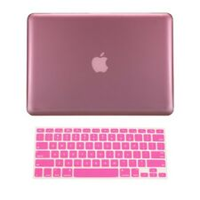 "2 in 1 PINK Crystal Hard Case Cover for Macbook PRO13"" A1278 with Keyboard Cover"