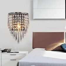 Contemporary Modern Crystal Wall Chandelier Lighting Home Decoration Light Lamp