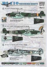 Print Scale 1/48 Messerschmitt Bf 110 Part 2 # 48028
