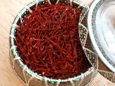 1 Gram Pure Genuine Saffron Spice, Grade I (All Red) Including Free UK Delivery