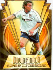 2000 Merlin Premier Gold Soccer Magic Moment Die Cut C1 David Ginola